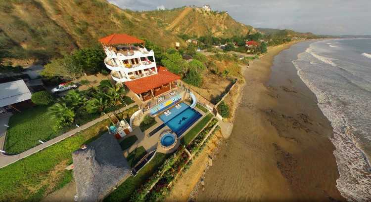 SUPER INVESTMENT: LUXURY BEACHFRONT TURNKEY BED & BREAKFAST ON ECUADOR'S COAST