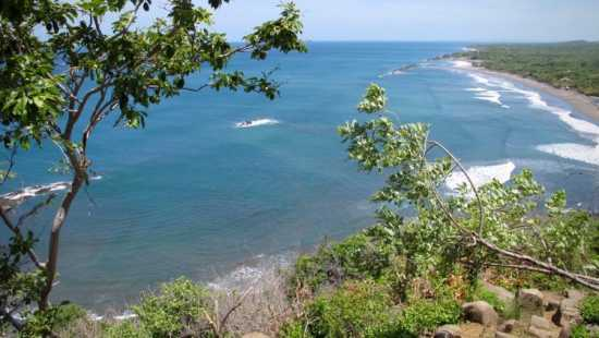 Oceanfront land property in El Tránsito, Nicaragua